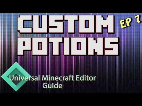 Minecraft: Modding With Universal Minecraft Editor | Ep 7 Custom Potions |