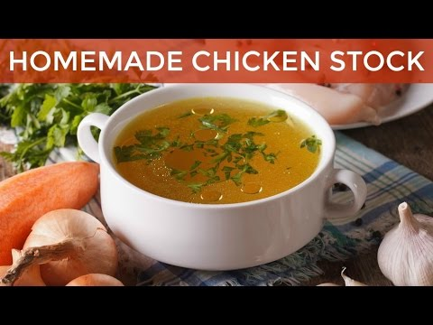 How To Make Homemade Chicken Stock Recipe