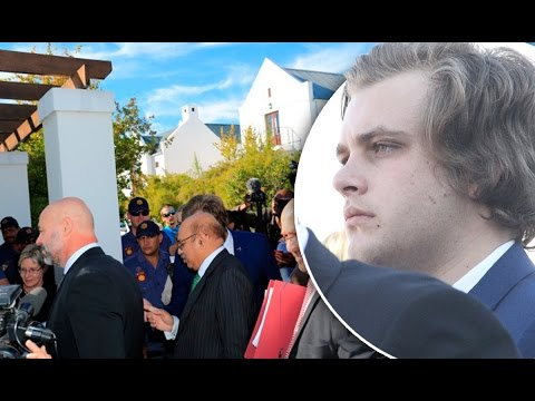 WATCH: Henri and the court visit the Van Breda family home