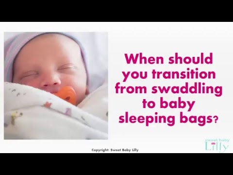 Transitioning from Swaddling to Baby Sleeping Bags