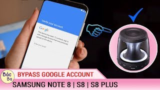 Bypass Google Account SAMSUNG S8 / S8 PLUS Via Z3X Remove