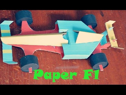 how to make paper car