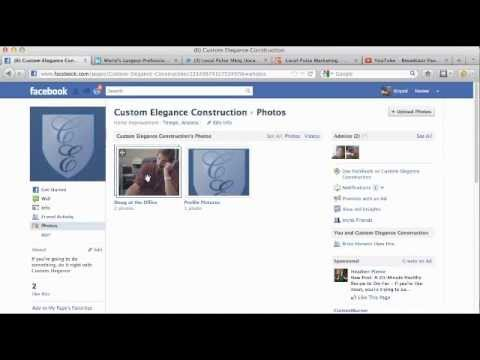 Upload Images To Facebook Business Page: Post Photos To Facebook Page