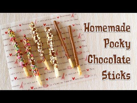 Homemade Pocky Chocolate Sticks ポッキーの作り方 - OCHIKERON - CREATE EAT HAPPY