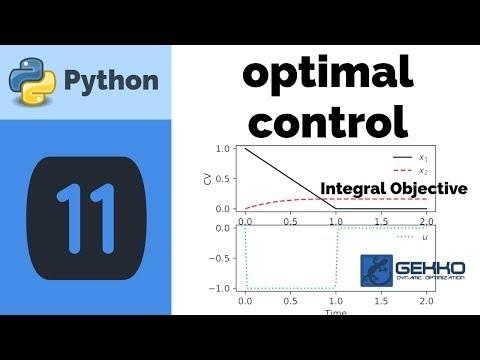 Optimal Control with Python GEKKO