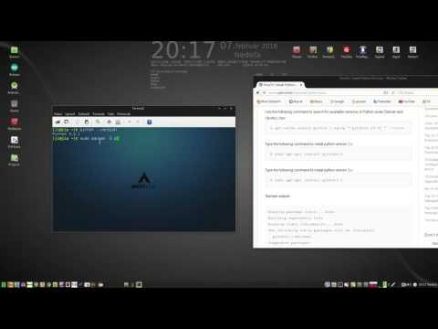 Python installing on Linux