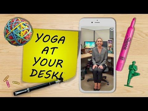 Yoga at Your Desk, Yoga Poses for Office Workers