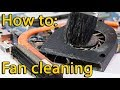 How to disassemble and fan cleaning laptop Asus X550
