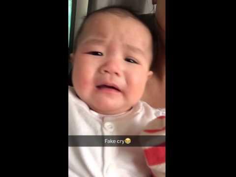 Tyra's fake cry