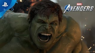 Marvel's Avengers | A-Day Prologue Gameplay Footage | PS4