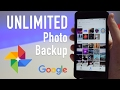 Free, Unlimited Photo & Video Backup With Google Photos