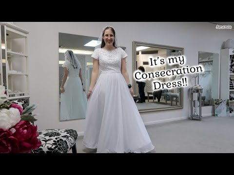 It's My Consecration Dress!! - My Dress for Consecrated Virginity