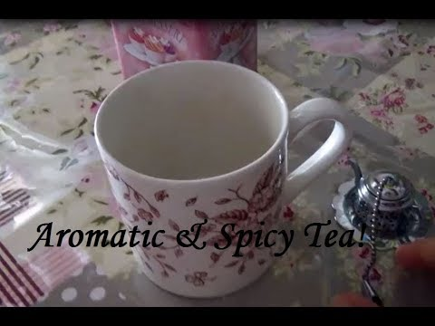 How to make Aromatic & Spicy Tea -DIY- Chai Series 1