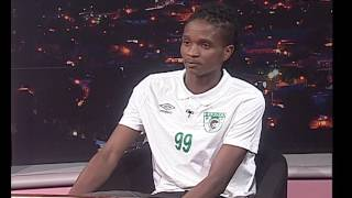 Thomas Mlambo Interviews  footballer Skhwama (Tshepo Matete)