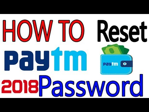 How to Reset Paytm Password | Paytm Forget  Password | Hindi (2018)