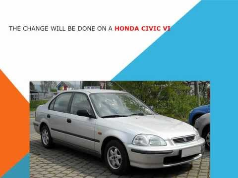 How to replace the air cabin filter   dust pollen filter on a Honda Civic VI