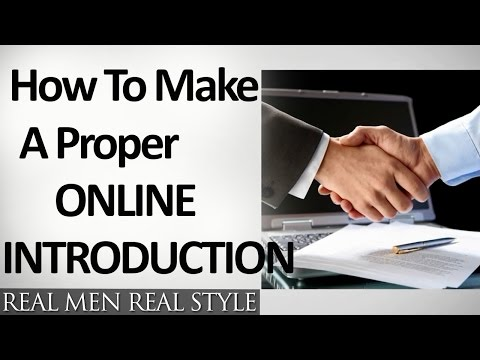 How To Make Proper Online Introductions | 7 Tips For Effective Email Introduction | Business Intros