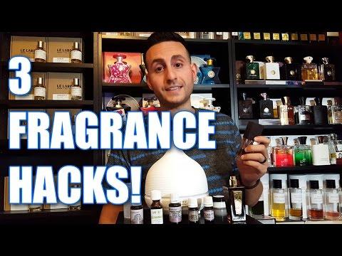 3 Fragrance / Cologne Hacks!