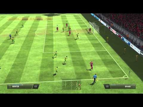 FIFA 13 - Coming Up Clutch (Pro Club Free Kick)