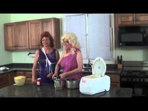 Pearlene and Bobbie Sue Pinneapple Upside Down Cake CoolCooker Comedy Episode 20 130612