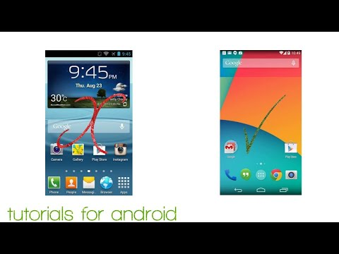 How to replace touchwiz home to stock android no r