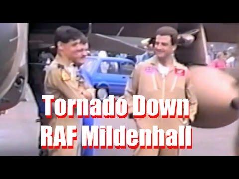 CRHnews - 'Tornado Down' John Peters + John Nicol  Mildenhall 1991