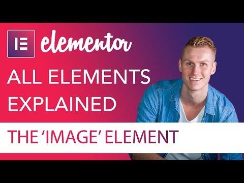 Image Element Tutorial | Elementor