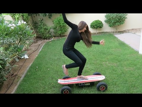 CRAZY FAST ELECTRIC SKATEBOARD !!!