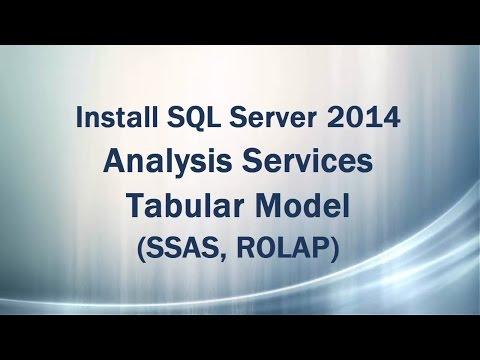 Install SQL Server 2014 Analysis Service Tabular Model (SSAS - ROLAP)