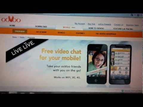 ooVoo Video Chat for iPhones (iOS) and Android Phones [HD]