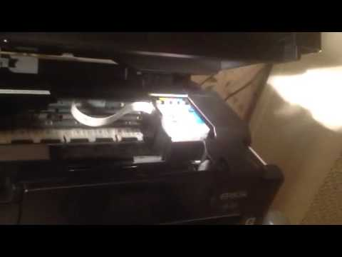 Fixing clogged print head on Epson XP-410 printer