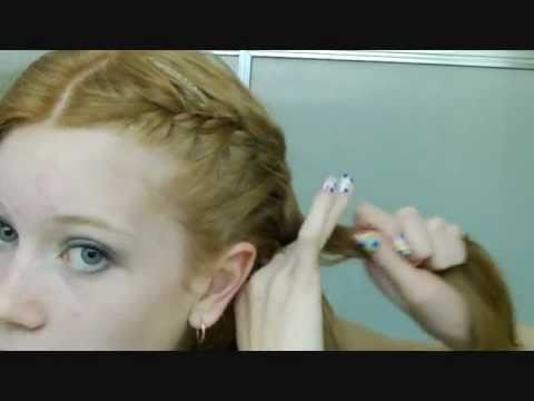 How to: French braid your own hair in two parts neatly