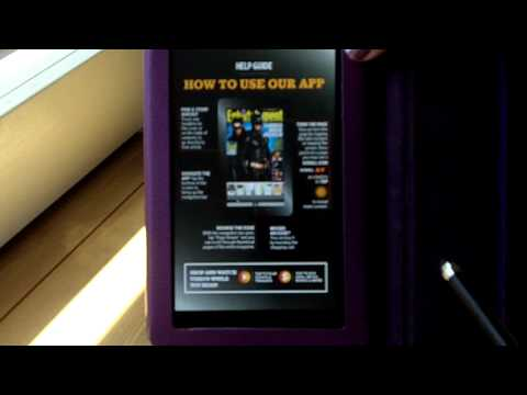 Viewing Digital Edition Magazines On The Kindle Fire