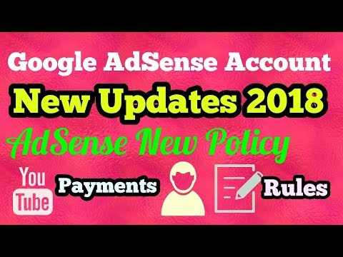 Google AdSense Account New Updates 2018 I Payments New Policy [in Nepali]