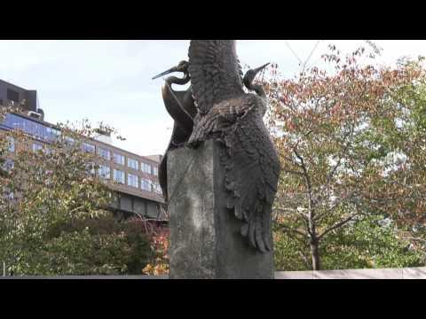 Japanese American Memorial to Patriotism in WW II -- Washington, DC (in 4K)