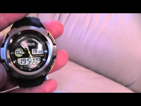 Lorus Gents Digital Watch R2323DX9