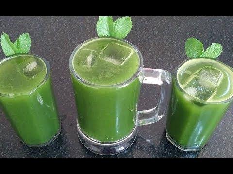स्वाद ऐसा के पीते रह जाओगे, बार बार बनाओगे💕 Summer drinks💕Mint juice recipe podina sharbat