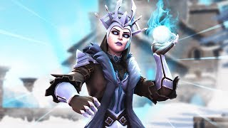 NEW Ice Queen Skin! Duo Squads With Myth!
