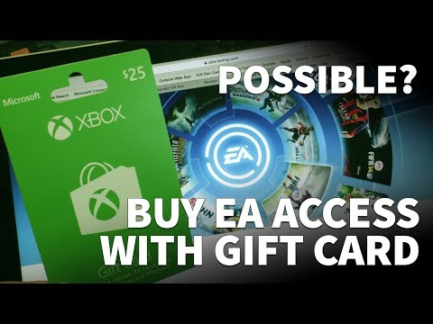 Can I Get EA Access with Xbox Gift Card – EA Access Subscription Gift Card Won't Work