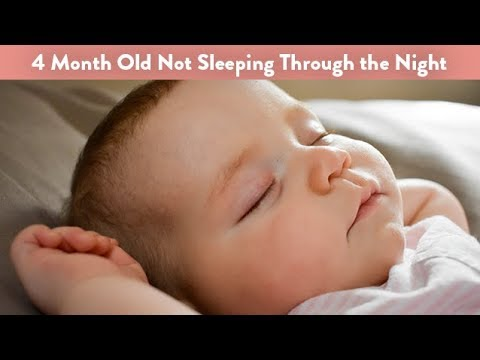 4 Month Old Not Sleeping Through the Night | CloudMom
