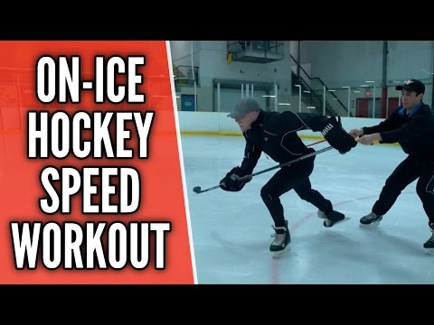 On-Ice Hockey Speed Workout - Hockey Skating Speed Drills ⚡️
