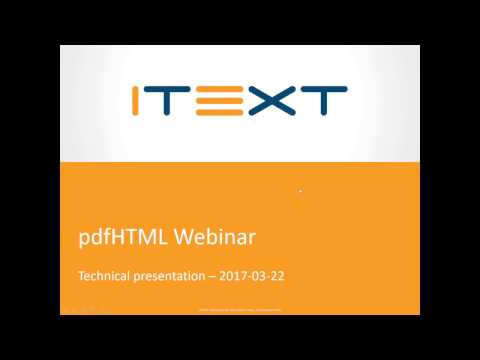 pdfHTML, converting HTML to PDF with iText 7