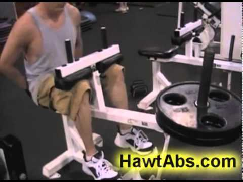 How to Do Thigh And Calf Exercises With Weights