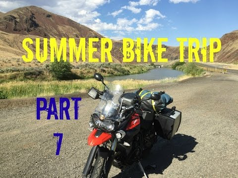 Requiem for a Mascot & Fuel Bingo - Summer Bike Trip Part 7 - Finale