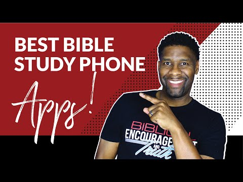 4 MUST HAVE Phone Apps for Quick and Easy Bible Study!!