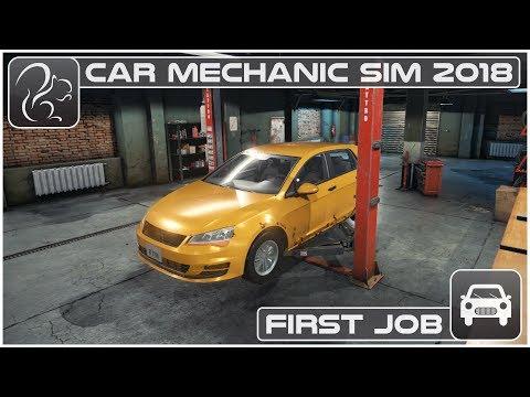 Car Mechanic Simulator 2018 (PC) - Episode #1 - First Job