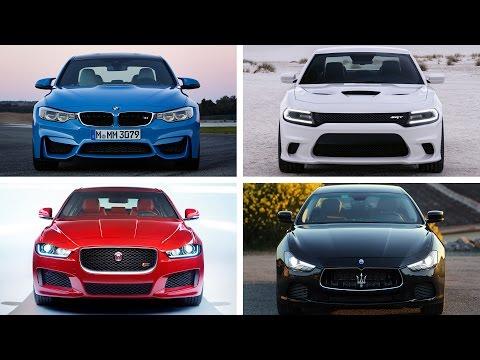 TOP 10 Sports Sedan Cars 2015