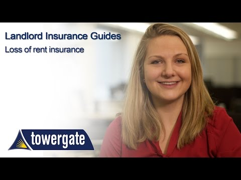 What is loss of rent insurance for landlords?