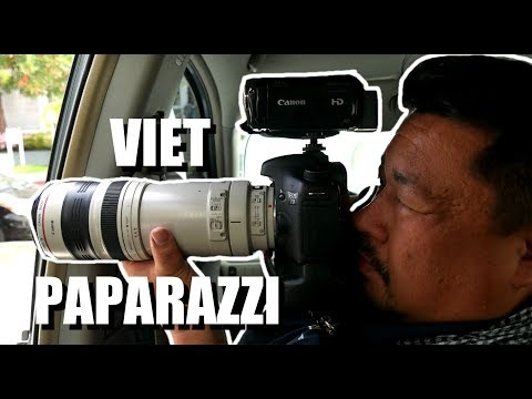 INCREDIBLE PAPARAZZI LIFE: Viet PAPARAZZO (From Hoc Mon to Hollywood)