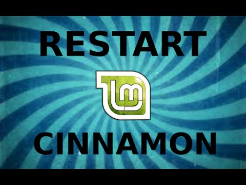 Restart Cinnamon without restarting Linux Mint 17